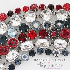 Have a safe and happy 4th of July weekend! Mariana and Catherine Popesco jewelry . Available at www.regencies.com
