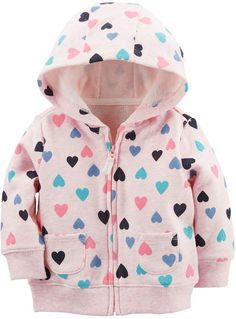 6cb205f15110 Baby Girl Clothes Carhartt Baby Girls  Redwood Jacket Sherpa Lined ...