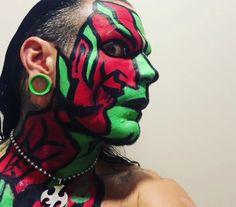 JEFF HARDY Jeff Hardy Face Paint, Best Wwe Wrestlers, Wwe Jeff Hardy, The Hardy Boyz, Anti Christ, Paint Ideas, Wallpaper Quotes, Brother, Wrestling