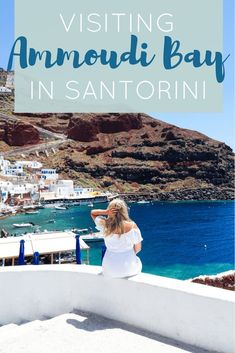 Visiting Ammoudi Bay in Santorini Greece | The Republic of Rose