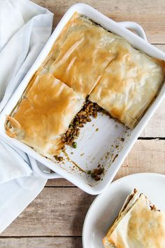 'Vegan samosa pie' (