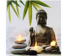 Decorating Your Meditation Room - The Meditation Tree Buddha Zen, Gautama Buddha, Buddha Buddhism, Zen Space, Zen Meditation, Cross Paintings, Statue, Amazon Art, Namaste