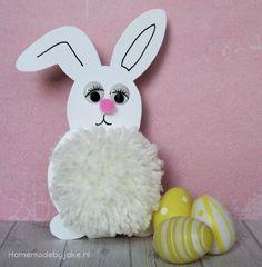 Een pompoen konijntje maken is niet ingewikkeld en je hebt maar weinig materialen nodig. Leuk om te knutselen voor de Pasen.