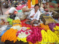 The pleasure of the gods *Fleurs Jaipur.. India