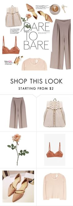"""""""Dare to bare"""" by punnky ❤ liked on Polyvore featuring Monki, Haute Hippie, Jardin des Orangers and Chloé"""