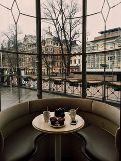 Drinking tea in Helsinki