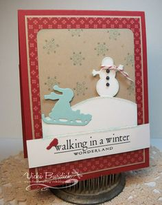 It's a Stamp Thing: Another Paper Players.......Winter Wonderland