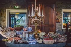 Irish Weddings Blairscove House buffet starters