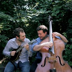 chris thile & edgar meyer, nashville, tennessee, 2008  Photo by Michael Wilson