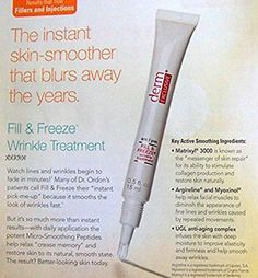 Derm Exclusive Fill   Freeze am/pm Wrinkle Treatment 0.5 fl. oz./15 mL. Includes FREE Travel Bag. *** Want additional info? Click on the image.