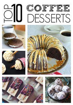 Top 10 Coffee Desserts Made with Keurig Coffee #Keurig400 #sp