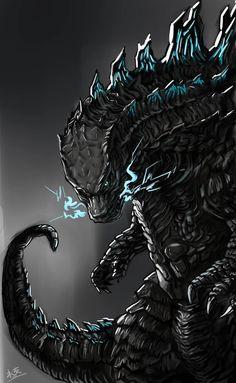 King Kong, Megalodon, Original Godzilla, Pacific Rim Kaiju, Beast Of The East, All Godzilla Monsters, Legendary Monsters, Spiderman, Monster Art