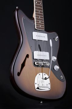 beautiful thinline jazzmaster