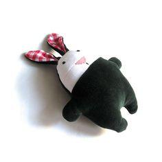 Easter rag rabbit toy plushie softie soft plush by meilingerzit