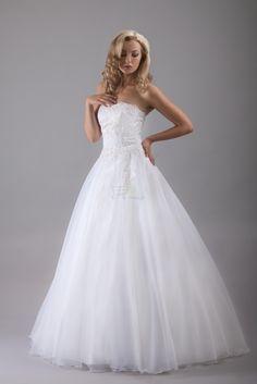 Znalezione obrazy dla zapytania suknia ślubna
