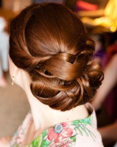 elegant wedding hair up do, photo by Yasmina Cowan Photography