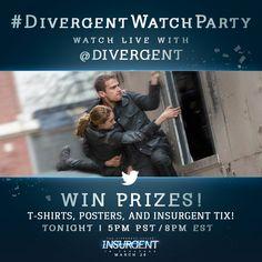 Watch Divergent, Divergent Movie, Win Prizes, Insurgent, Book Series, Itunes, Good Books, Join, Reading