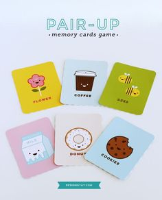 Pair-up Memory Cards Game | DESIGN IS YAY