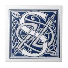 Celtic S Monogram