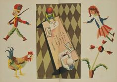Things that Quicken the Heart: Early 20th Century Illustrations from Japanese Children's Books :Takei Takeo, Color Tape Crafts, 1927