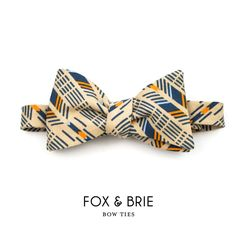 Arrow bow tie | Fox & Brie