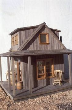 Image result for dollhouses wild west