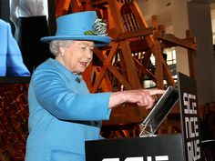"""Queen Elizabeth Sends Her First Tweet  The Tweet, sent during a visit to London's Science Museum, had been pre-written, which means the monarch simply had to press the """"Tweet"""" button on a tablet. It said: """"It is a pleasure to open the Information Age exhibition today at the @ScienceMuseum and I hope people will enjoy visiting. Elizabeth R."""""""