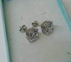 Ohrringe Ohrstecker Silber 925 mit Kristall SO171 von Schmuckbaron