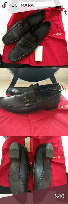 *FLASH SALE* BALLY Men's Loafer Great condition, genuine leather  US Size 13 / EU 12 / FR 46 Mila Calf Leather Bally shoes  100% authentic Bally Shoes Loafers & Slip-Ons