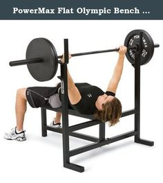 "PowerMax Flat Olympic Bench Press. WE120 Features: Product Type: -Olympic bench. Frame Color: -Black. Upholstery Color: -Black. Frame Material: -Steel. Upholstery Material: -Vinyl. Total Weight Capacity: -800 Pounds. User Weight Capacity: -800 Pounds. Dimensions: -Steel tubing: 2''. -Plywood: 0.75''. Overall Height - Top to Bottom: -48"". Overall Width - Side to Side: -48"". Overall Length - Front to Back: -52"". Upright Posts: -Yes. Overall Product Weight: -95 lbs. Upright Post Height - Top…"