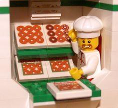 Custom Donut Shop for Town City Train Police Food Lego Doughnut Restaurant Set   eBay
