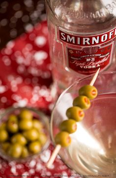 Dirty Martini Spice up this holiday season with a Dirty Martini. Simply combine 1.5 oz Smirnoff No.21 Vodka and a splash of olive juice in a shaker. Pour into a martini glass and enjoy! #holiday #drink