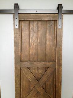 Interior Sliding Doors Barn Hardware   For More Interior Barn Door  Treatments See InteriorBarnDoors.org