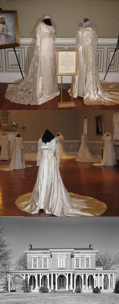 Wedding Dresses from the 1800's on Display at Oaklands Mansion in Murfreesboro on News Story at WGNSradio.com
