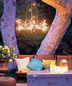 Lighting: Backyard lighting