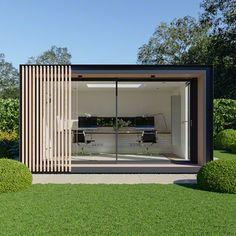 Glide Pod, a Flexible & Contemporary Garden Office – Pod Space
