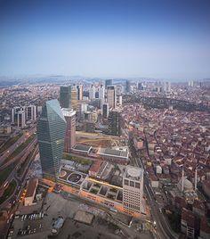 Kristalkule Finansbank Headquarters Istanbul, Turkey  Completed 2015