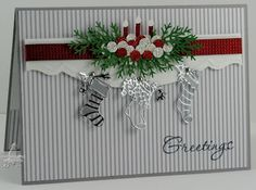martha stewart branch punch | Always Playing with Paper | Christmas cards