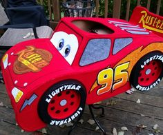 I wanted to make a costume for my 2 year old son this year, but needed to decide between his two favorite LOVES: Lightning McQueen and Thomas the Train. I decided to...