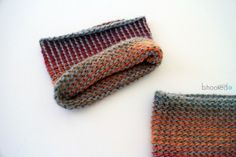 Reversible Tunisian Crochet Boot Cuffs. Free pattern and video tutorial.
