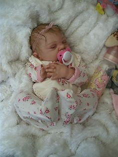 Beautiful Realistic Reborn Baby Girl Doll from 'Sugar' sculpt from **LBBN**