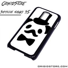 Hat Panda With Mustache Case For Samsung Galaxy S5 Case