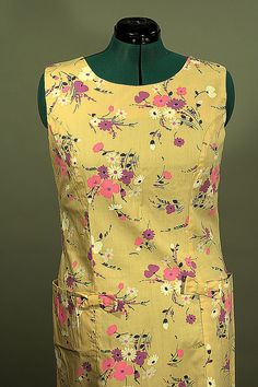 Bill Sims 1960 Sleeveless Shift, Plus Size, Just In