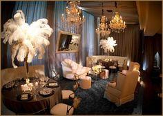 Great Gatsby wedding | wedding lounge | cocktail lounge | viva bella events | Cincinnati Wedding