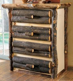 rustic cabin decor - cabin by the lake bedroom decor - cabin in the woods bedroom decorating ideas - moose fishing camping hunting lodge bedrooms for boys - black bear decor - rustic furniture - lodge cabin log cabin themed bedroom decorating ideas Rustic Bedroom Furniture, Cabin Furniture, Handmade Furniture, Oak Bedroom, Reclaimed Furniture, Bespoke Furniture, Diy Furniture, Furniture Design, Moose Decor