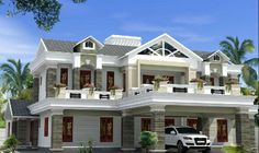 Beau Luxury House Plans Box Type Luxury Home Design Kerala Home Beautiful Home  Designing, Gallery Luxury House Plans Box Type Luxury Home Design Kerala  Home ...