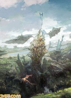 Project Prelude Rune コンセプトアート①