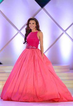 Sarah Hamrick Miss South Carolina Outstanding Teen 2015 Evening Gown: HIT or MISS?