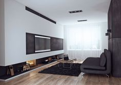 "LCD ""Moscow"" Bachelor Apartment by Angelina Alexeeva"