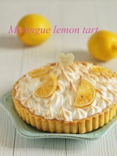 Sweet Pie, Cafe Food, Cake Recipes, Lemon, Sweets, Baking, Breakfast, Desserts, Don't Forget